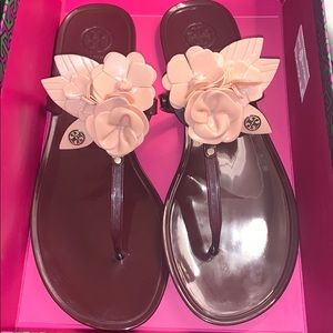 Tory Burch Jelly Slides/ WORN ONCE